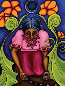 Grandmothers-by-Zamara-Cuyun-acrylic