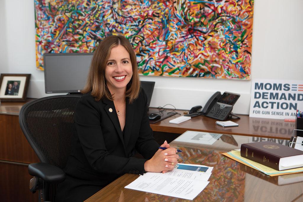 State Sen. Melisa Franzen (DFL-Edina)