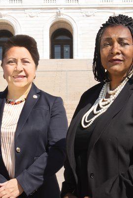 Patricia Torres Ray and Rena Moran cover