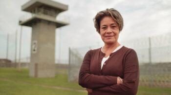 Deborah-at-guard-tower
